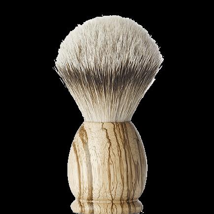 APOLLO Zebrawood Shaving brush (large size)