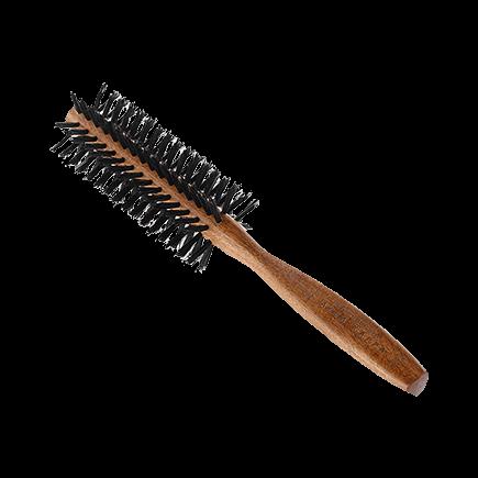 Acca Kappa Hairbrushes Collection Mahogany Kotibe Wood ROUND BRUSH 100% BOAR BRISTLES - DIAM. 44