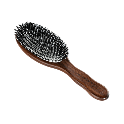 Acca Kappa Hairbrushes Collection Mahogany Kotibe Wood Pneumatic Oval Brush