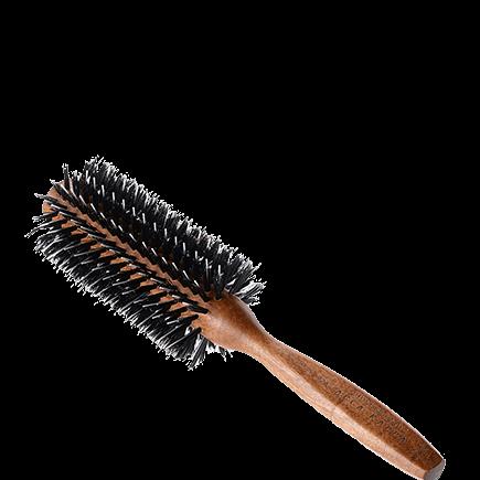 Acca Kappa Hairbrushes Collection Mahogany Kotibe Wood Porcupine Brush 60 mm