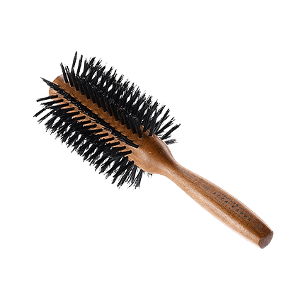 Acca Kappa Hairbrushes Collection Mahogany Kotibe Wood Round Brush Diam. 69
