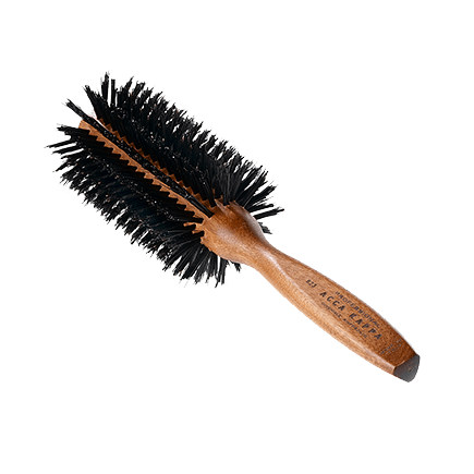 Acca Kappa Hairbrushes Collection Mahogany Kotibe Wood High Density Brush 59 mm
