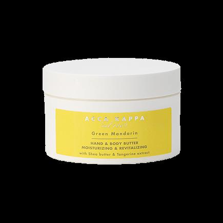 Acca Kappa Green Mandarin Body & Hand Butter