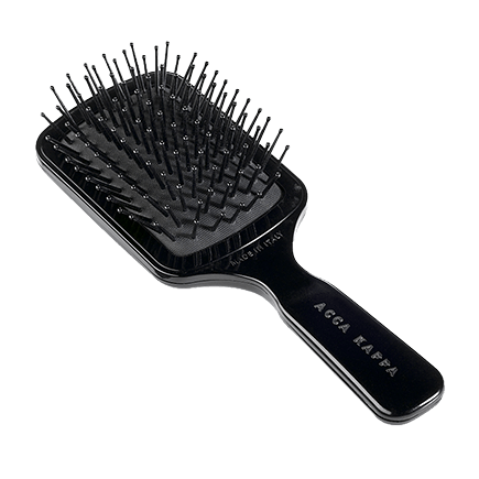 Acca Kappa Hairbrushes Collection Paddle Pneumatic Brush Travel