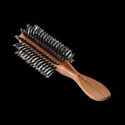 Acca Kappa Hairbrushes Collection Mahogany Kotibe Wood Half Round Brush 100% Boar Bristles
