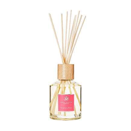 Acca Kappa Virginia Rose DIFFUSOR W/WOODEN REEDS