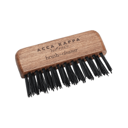 Acca Kappa Hairbrushes Collection Mahogany Kotibe Wood BRUSH CLEANER FOR ALL BRUSHES