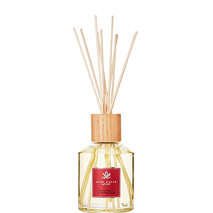 Acca Kappa Home Fragrance Collection BLACK PEPPER & SANDAL DIFFUSOR W/STICKS