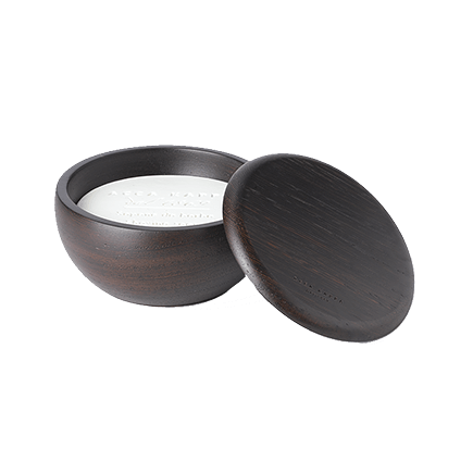 Acca Kappa 1869 Wenge Wood Wenge Bowl with Almond Shaving Soap