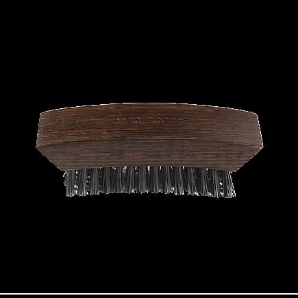 Acca Kappa 1869 Wenge Wood Club Style Nailbrush Natural Bristles Wenge