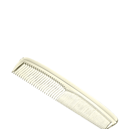 Acca Kappa Bio Collection Cellulose Acetate Fine Coarse Toothed Comb