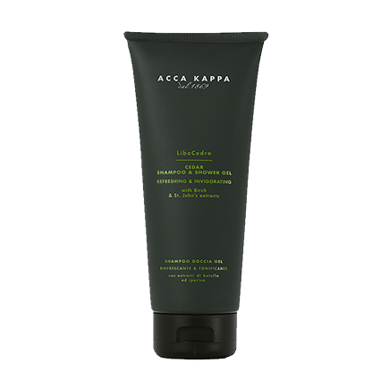 Acca Kappa Libo Cedro Cedar Shampoo & Shower Gel