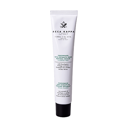 Acca Kappa Natural Care NATURAL TOOTHPASTE FLUORIDE FREE