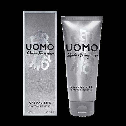 Salvatore Ferragamo Uomo Casual Life Shampoo & Shower Gel