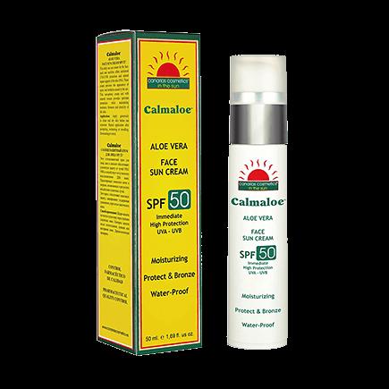 Canarias Cosmetics Calmaloe Sonnenpflege Face Sun Cream Very High Protection SPF 50