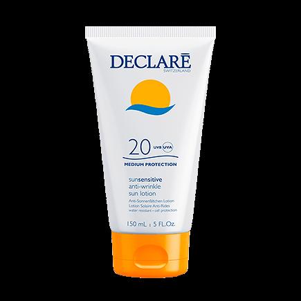 Declare sunsensitive anti-wrinkle sun lotion SPF 20