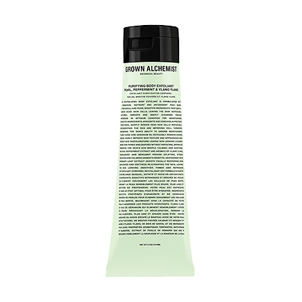 Grown Alchemist Body PURIFYING BODY EXFOLIANT: PEARL, PEPPERMINT & YLANG YLANG