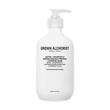 Grown Alchemist Cosmeceutical Haircare DETOX - SHAMPOO 0.1 HYDROLYZED SILK PROTEIN, LYCOPENE, SAGE