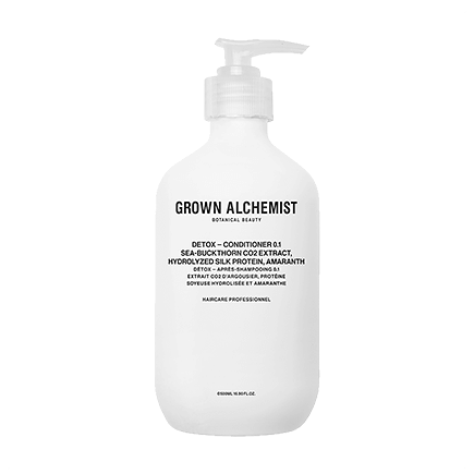 Grown Alchemist Cosmeceutical Haircare DETOX - CONDITIONER 0.1 SEA-BUCKTHORN CO2 EXTRACT, HYDROLIZED SILK PROTEIN, AMARANTH