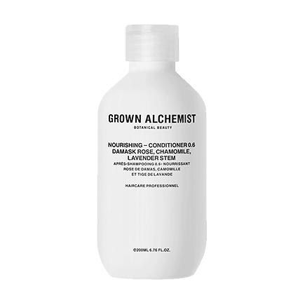 Grown Alchemist Cosmeceutical Haircare NOURISHING-CONDITIONER 0.6 DAMASK ROSE, CHAMOMILE, LAVENDER STEM